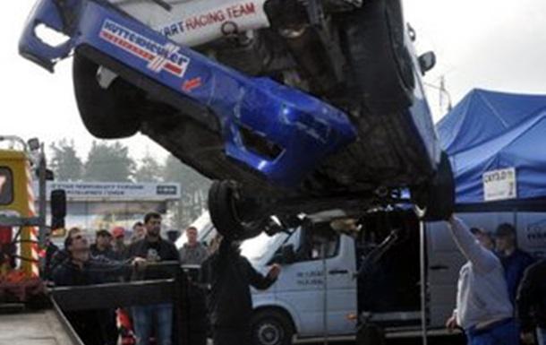 О серьезной аварии на финале Чемпионата Украины