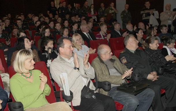 У Львові презентували документальну стрічку про міжнародні військові навчання