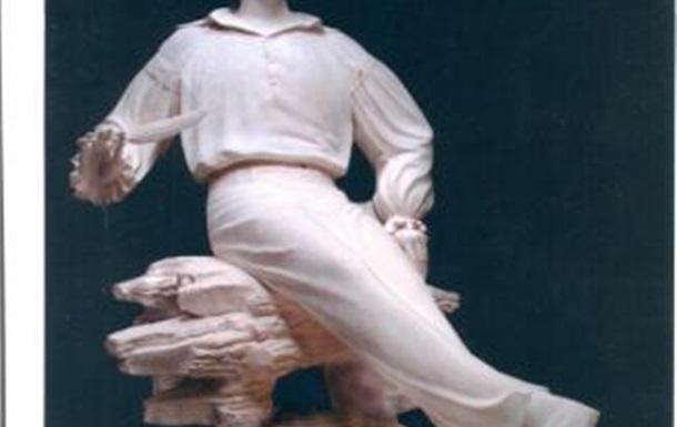 Зображення скульптури М. Гоголя, яка невдовзі з'явиться в Києві