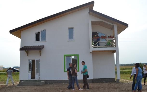 Открытие первого коттеджного комплекса для молодых семей