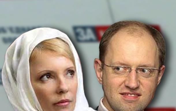 Хроника ненависти Яценюка и Тимошенко или Объединенные грабли.