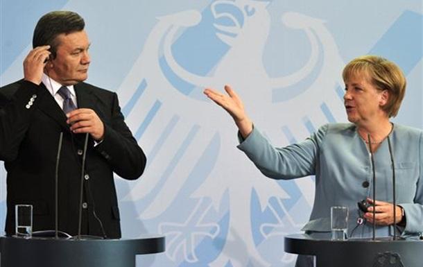Гитлер, Меркель и Янукович