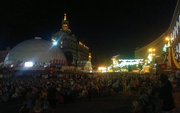 ЄВРО. Київ. День чотирнадцятий. Плей-офф: гості їдуть (фото+відео)