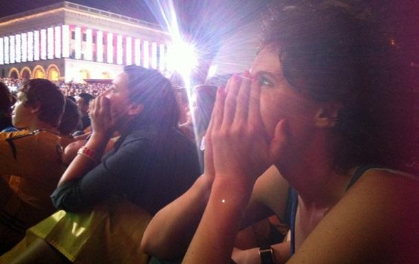 О чем думает женщина, когда болеет за сборную Украины