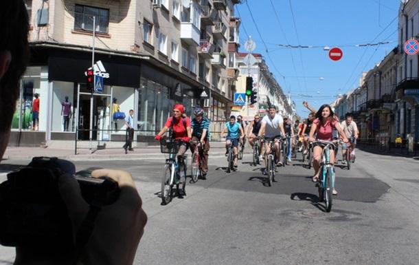 В Тернополі знімали кіно про життя велосипедистів