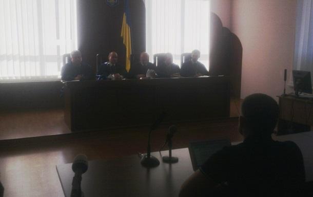 О.Данилюк vs Верховна Рада України & ВАСУ  1:0  (+відео)