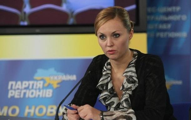 Днепропетровская «Свобода» готова принять экс-регионалку Шилову в свои ряды