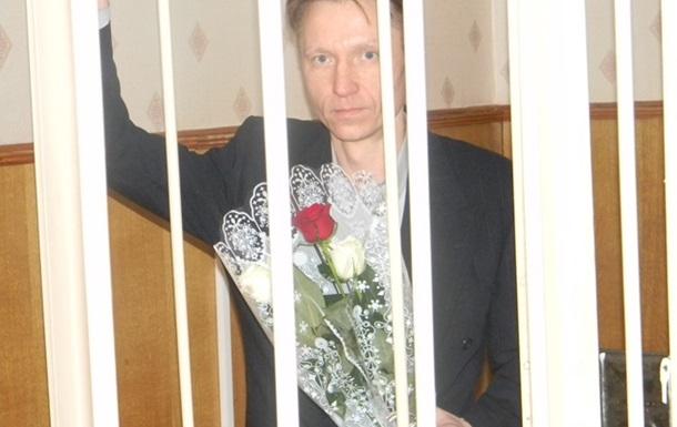 У судзе Першамайскага раёну Віцебску Сяргею Рыжову ўручылі букет ружаў