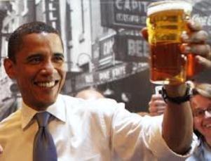 Президент без денег! или  Президент с пивом