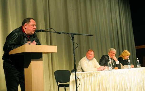 Зустріч Петра Мельника з громадою селища Гостомель