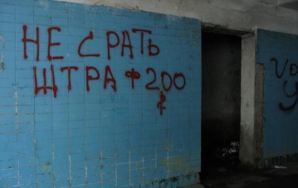 Україна в лайні