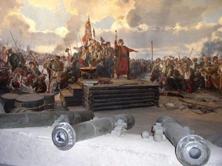 Мазепа и запорожские казаки