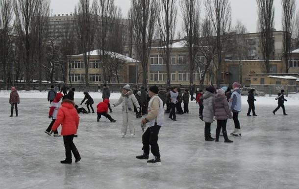 Первый в Киеве бесплатный каток