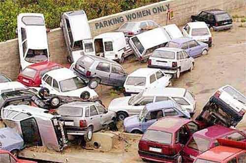 Парковки не-европейской столицы