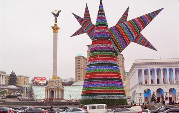Сколько простоит Йолка на Майдане?