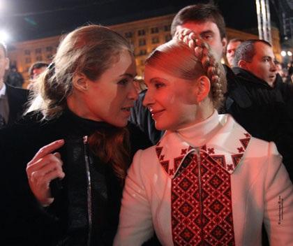 Соратники Тимошенко деражат ее в колонии?