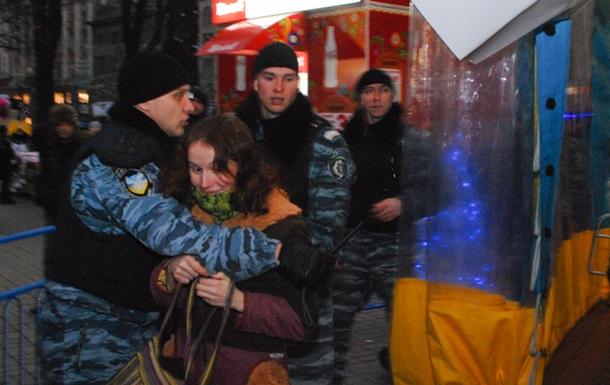 За катання на каруселі в Києві затримали п'ятьох громадян