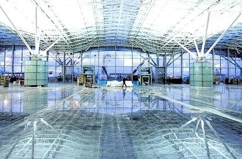 Новый терминал аэропорта  Борисполь  почти готов к приему пассажиров (фото)