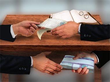 Розмір хабарів визначається посадою чиновника