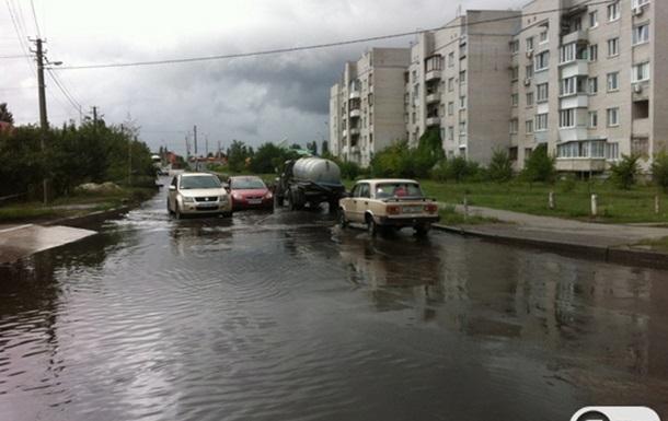Тест на готовность к осенне-зимнему периоду Дарницкий район завалил с первыми дождями