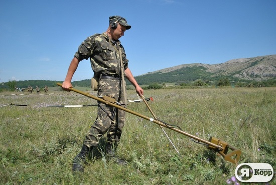 Защитник Отечества. Первые итоги  интенсивного периода  на полигоне в Крыму
