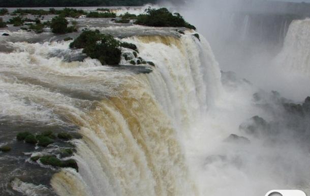 Бразилия. Игуасу - водопад-отпад!