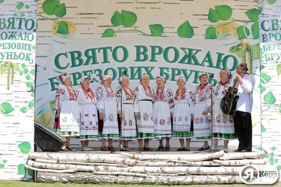 В Пирогово отпраздновали Праздник урожая березовых почек