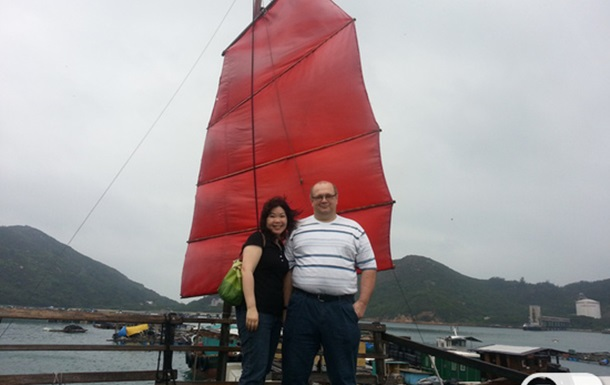 Путешествие на остров Lamma, Hong Kong.