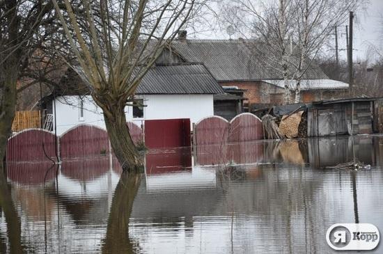 Річки міста Червоноград та села Межиріччя Львівської області вийшли з берегів