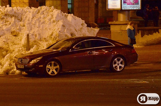Новые правила парковки от владельца Мерседеса