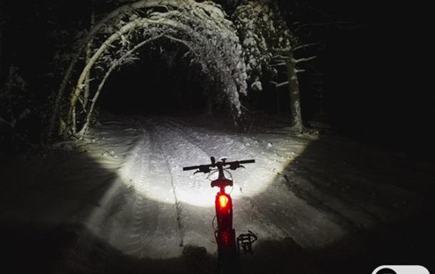 Велопрогулка по зимнему лесу