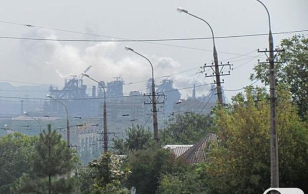 SOS! Мариуполь утопает в смоге