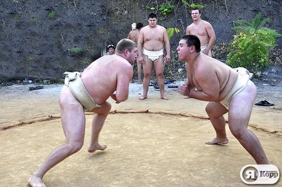 Сборная Украины по сумо. Подготовка к Первенству Мира