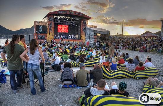Юбилейный Джаз Фестиваль в Коктебеле