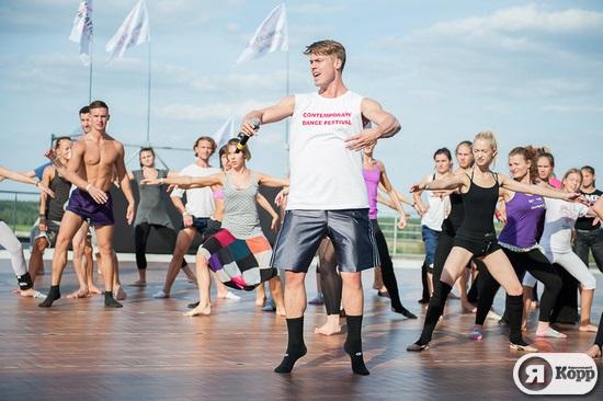 Иностранные хореографы на фестивале Contemporary Dance Festival