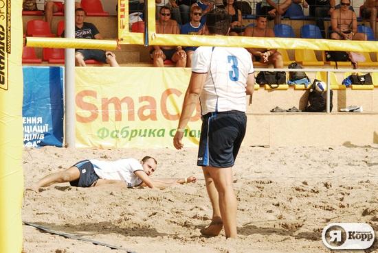 Команда СБУ перемогла в турнірі з пляжного волейболу серед силовиків та правоохоронців