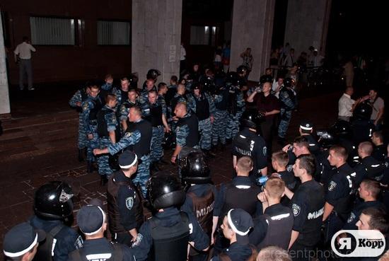 Митинг в защиту украинского языка в Киеве