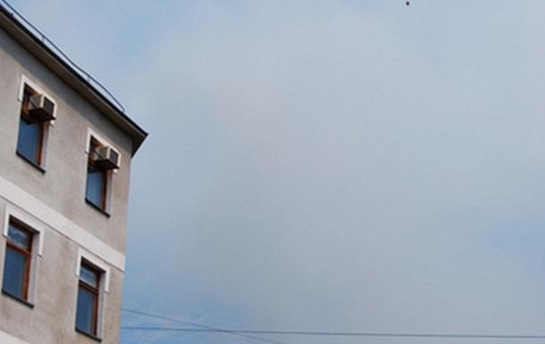 Пожар в горах над Ялтой