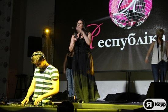 Солистка Ace Of Base выступила в Киеве