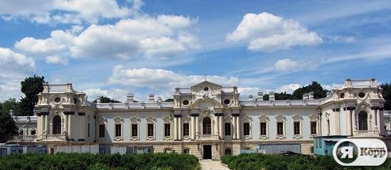 Реконструкция Мариинского дворца и строительство вертолетной площадки для Януковича