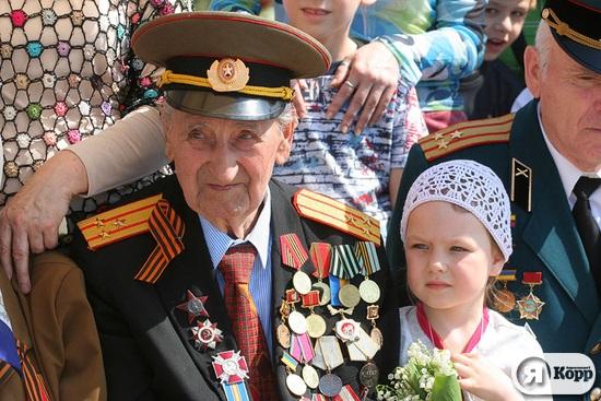 Сумщина отметила 9 мая торжественным парадом и концертом