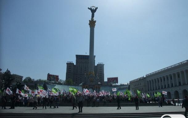 За Україну без репресій! Спільний мітинг БЮТ та Фронту Змін