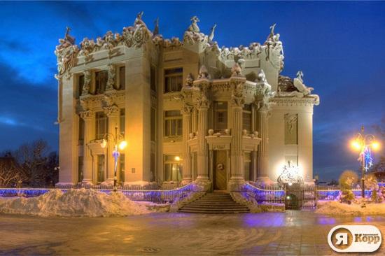 Киевская архитектура в вечерних огнях