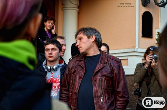 Акция против разрушения Андреевского спуска