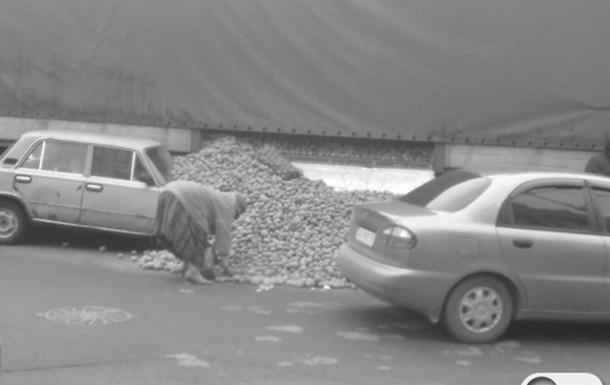 Картофельная пробка возле НСК Олимпийский