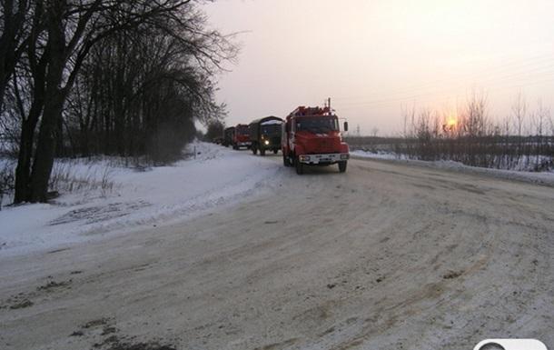 В Сумской области сошел с рельсов состав из 27 грузовых вагонов