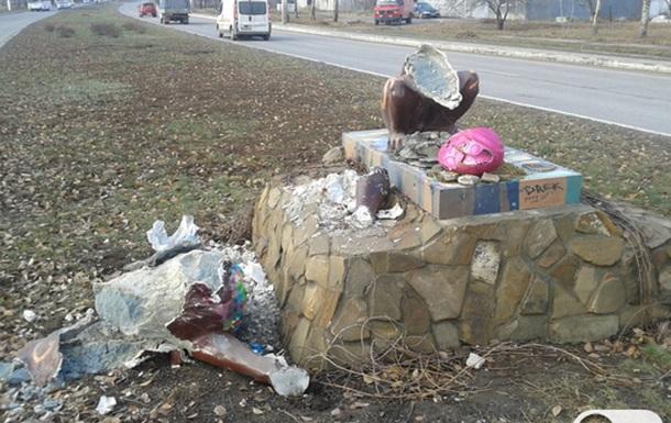 В Луганске разбили Льва