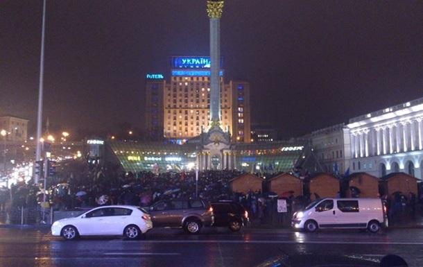 Вечерний Евромайдан. Украинские города накрыла волна протестов