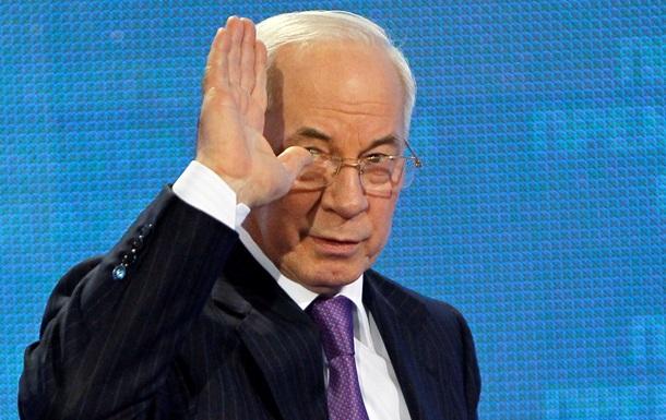 Азаров уверен в полном праве Киева отказаться от скорого подписания СА с Брюсселем