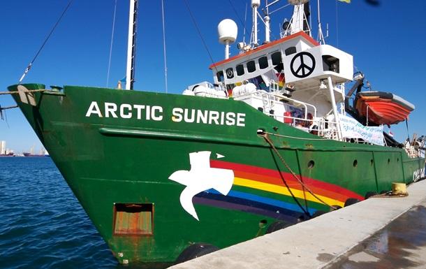 Дело Arctic Sunrise: трибунал ООН встал на сторону  Гринпис